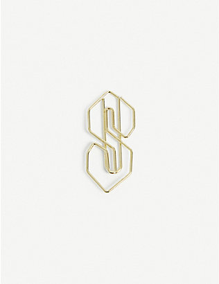 THE S THING: Logo-shaped metal paperclips and case set