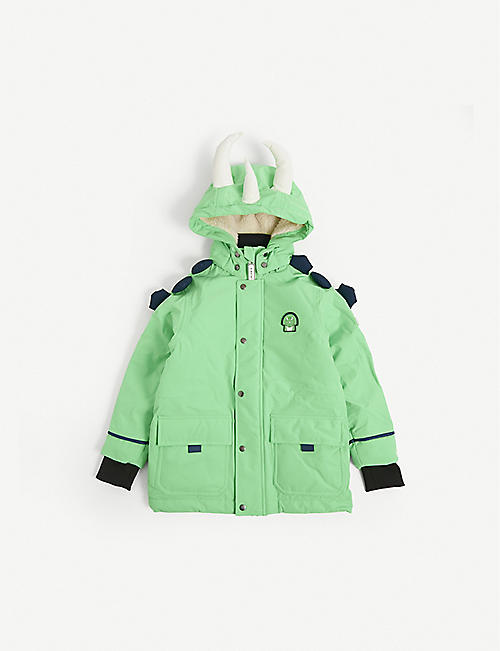 DINOSKI: Spike dinosaur padded coat 2-7 years
