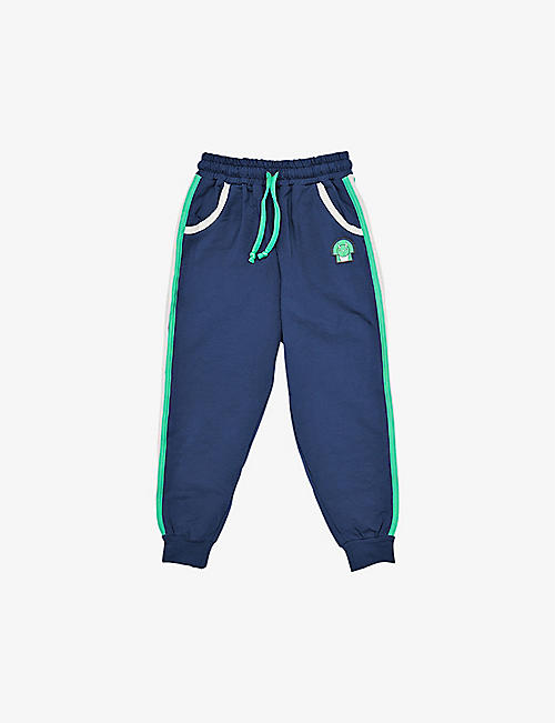 DINOSKI: Spike stretch-cotton jogging bottoms 2-8 years