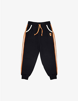 DINOSKI: Pounce the Tiger cotton-blend jogging bottoms 2-8 years