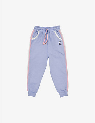 DINOSKI: Sparkle the Unicorn cotton-blend jogging bottoms 2-8 years
