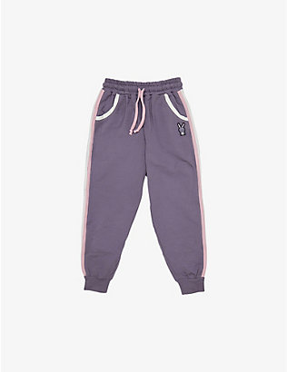 DINOSKI: Hop stretch-cotton jogging bottoms 2-8 years