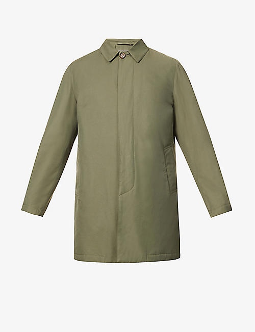 VALSTAR: Milano collared cotton-blend jacket