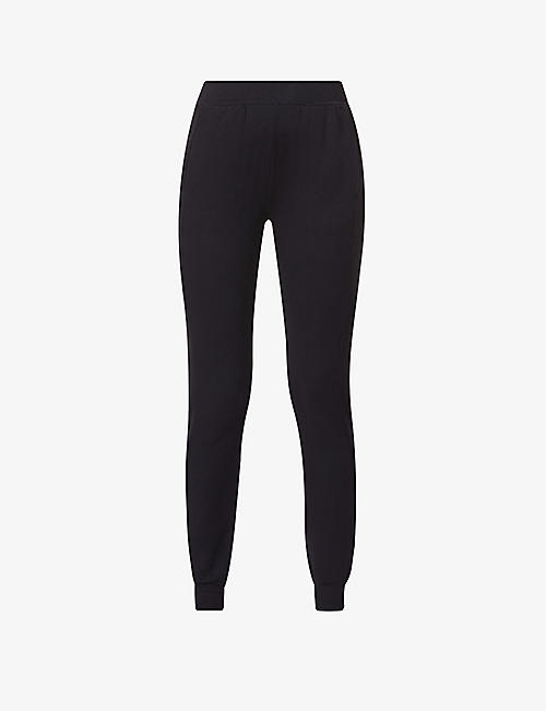 BLEUSALT: The Jogger stretch-knit jogging bottoms
