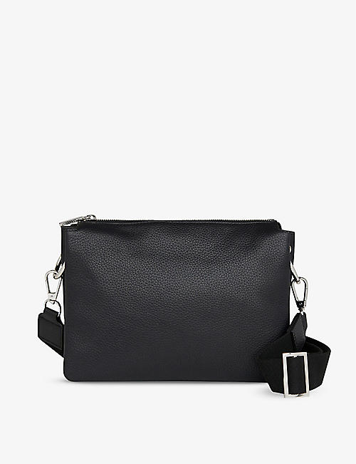 WHISTLES: Katie leather cross-body bag