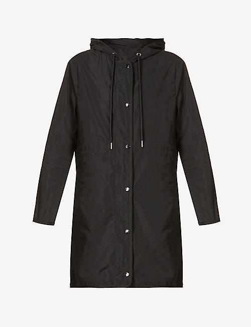 MONCLER: Lebris hooded shell coat