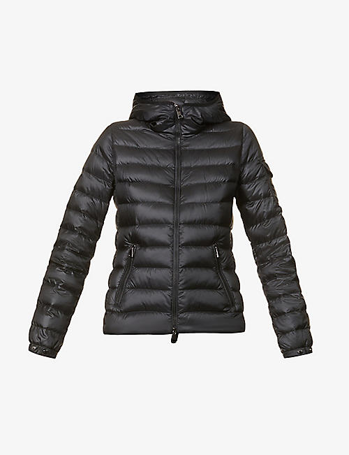 MONCLER: Giubbotto quilted shell-down jacket