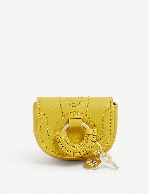 SEE BY CHLOE: Hana Mini leather cross-body bag