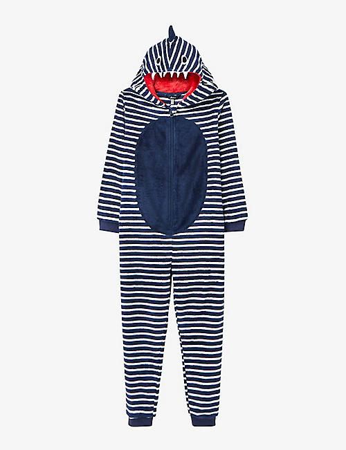 JOULES: Bruce cotton-blend onesie 3-8 years