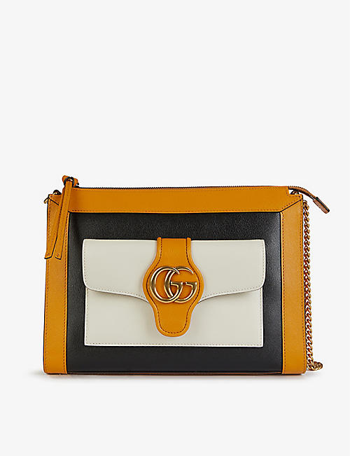 GUCCI: Dhalia leather cross-body bag