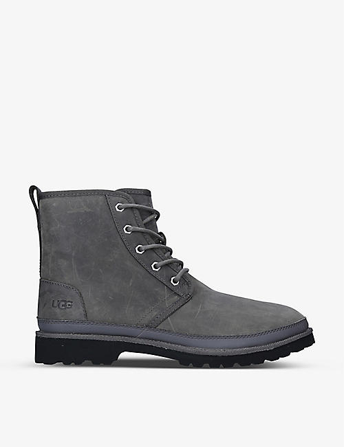 UGG: Harkland full-grain leather boots