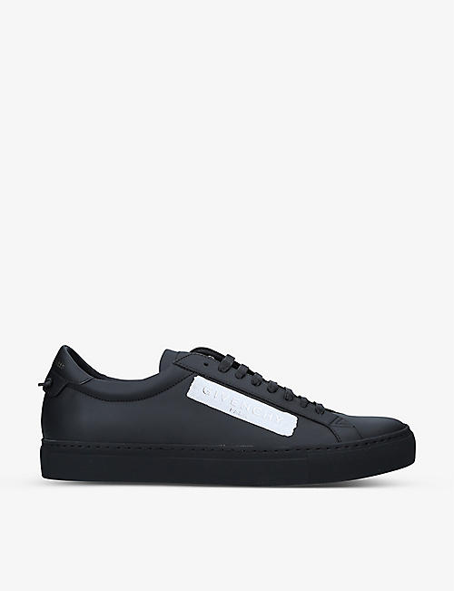 GIVENCHY: Urban Street leather low-top trainers
