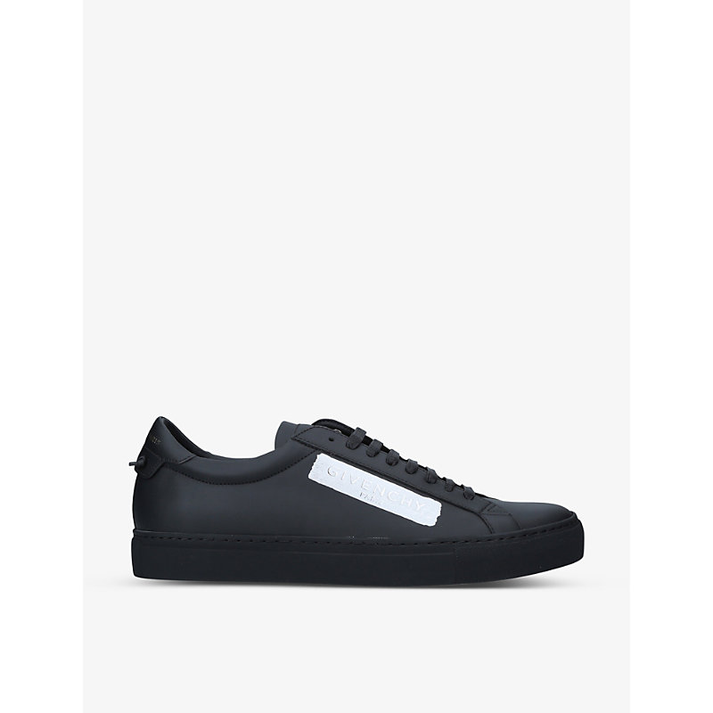 Givenchy URBAN STREET LEATHER LOW-TOP TRAINERS