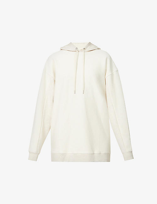 TED BAKER: Relaxed-fit cotton-knit hoody