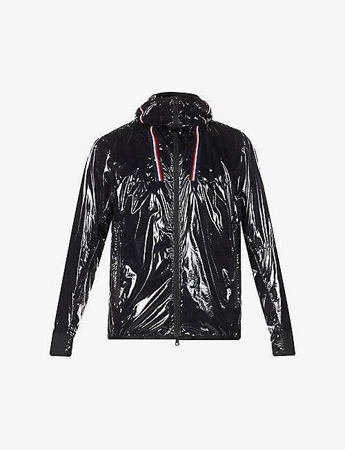 MONCLER: Marly funnel-neck shell-down hooded jacket
