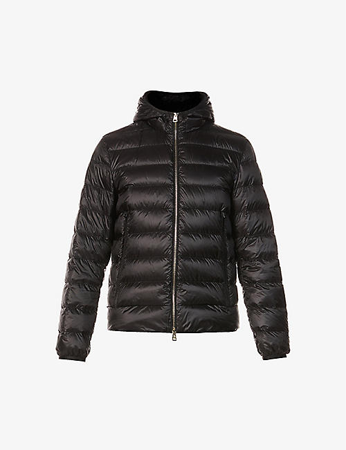 MONCLER: Emas padded shell-down jacket