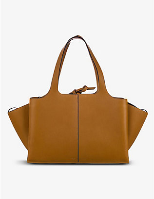 RESELLFRIDGES: Pre-loved Celine trifold leather tote bag