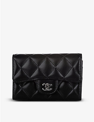 RESELLFRIDGES: Pre-loved Chanel quilted leather wallet