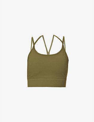 VARLEY: Frances stretch-jersey sports bra