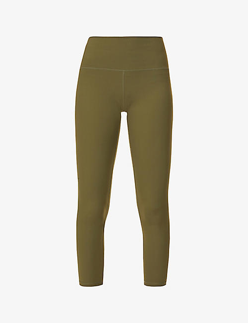 VARLEY: Whitley high-rise stretch-woven leggings