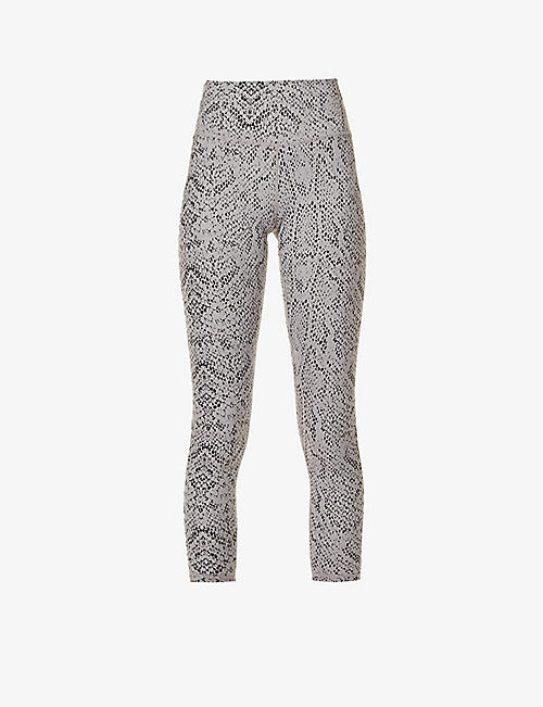 VARLEY: Century 2.0 graphic-pattern stretch-woven leggings