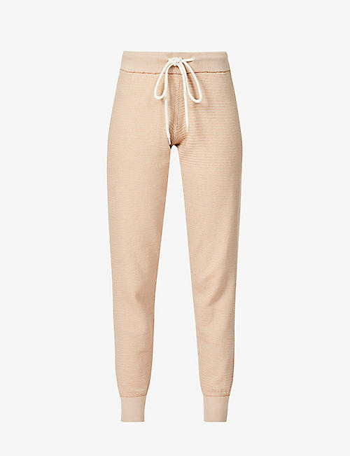 VARLEY: Alice wide relaxed-fit cotton-knit trousers
