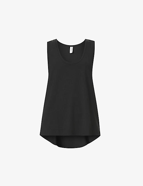 VARLEY: Elenda relaxed-fit stretch-woven top
