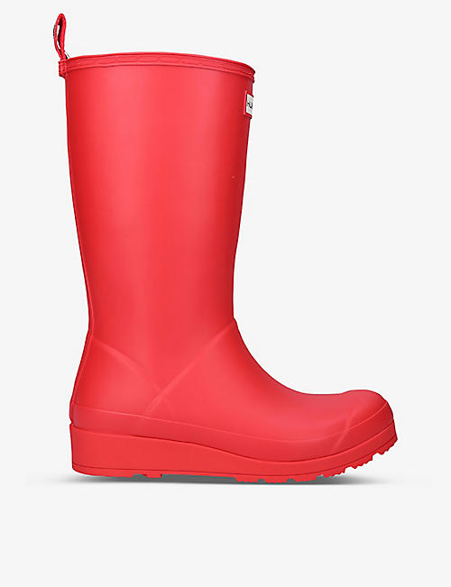 HUNTER: Original Play tall rubber wellington boots