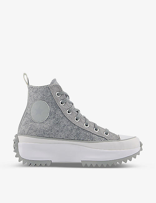 CONVERSE: Runstar Hike felt high-top trainers