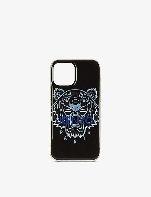 KENZO: Tiger-print iPhone 12 Pro case