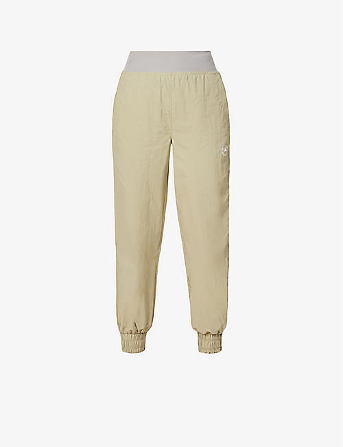 ADIDAS BY STELLA MCCARTNEY: College relaxed-fit high-rise recycled-polyamide trousers
