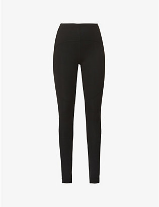 ADIDAS BY STELLA MCCARTNEY: Yoga high-rise stretch-recycled polyester leggings