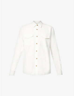 TIGER OF SWEDEN: Relaxed-fit corduroy shirt