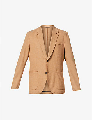 TIGER OF SWEDEN: Notch-lapel woven blazer