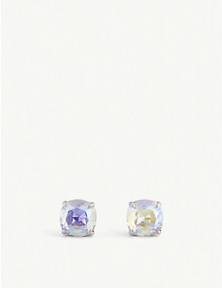 KATE SPADE NEW YORK: Iridescent cubic zirconia stud earrings