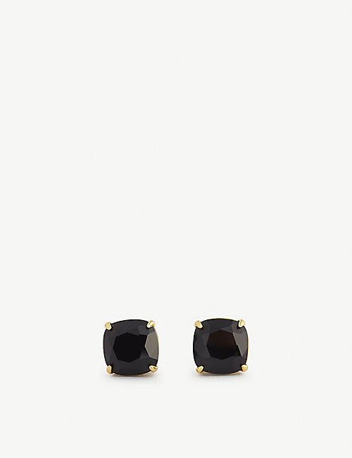 KATE SPADE NEW YORK: Small square stud earrings