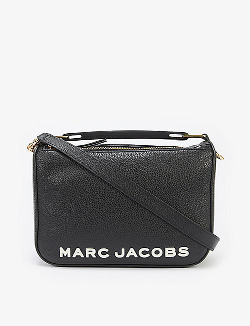 MARC JACOBS: Soft Box leather cross-body bag