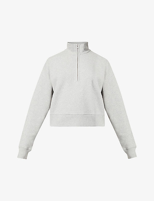 REFORMATION: Marla organic cotton-jersey sweatshirt