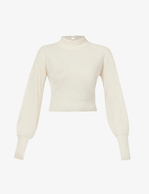 REFORMATION: Osteria recycled-cashmere-blend jumper
