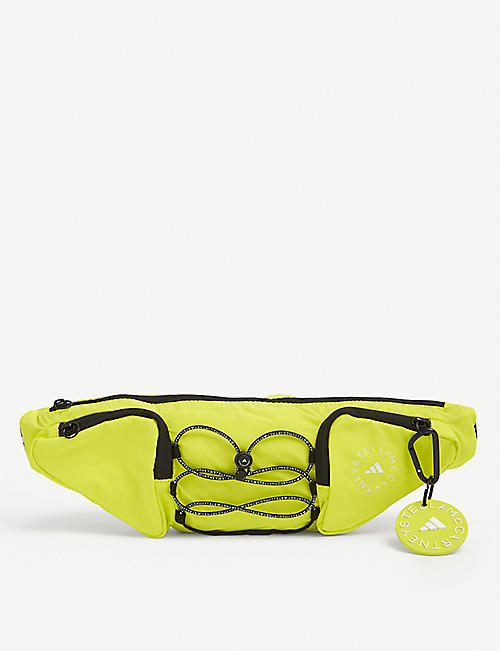 ADIDAS BY STELLA MCCARTNEY: Branded recycled-polyester belt bag