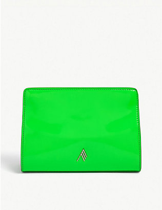 ATTICO: Venice patent leather clutch bag