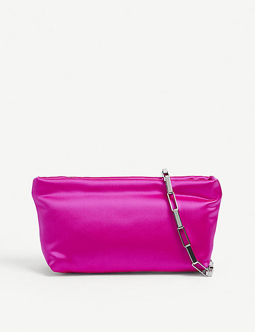 ATTICO: Wynona mini satin shoulder bag