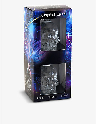 CRYSTAL HEAD VODKA: Crystal Head Vodka set of two x 500ml