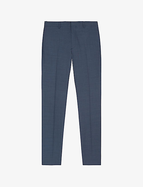 THE KOOPLES: Mid-rise wool suit trousers