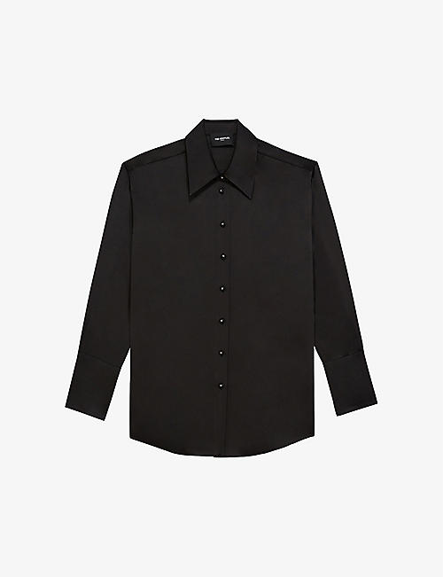 THE KOOPLES: Regular-fit long-sleeved cotton shirt