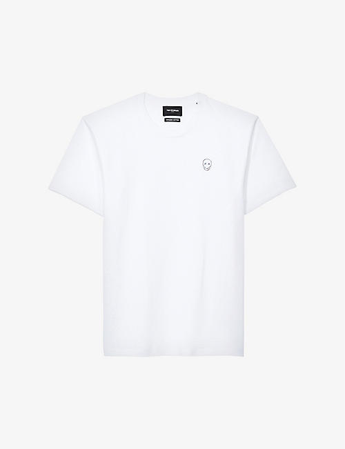 THE KOOPLES: Logo-embossed cotton T-shirt