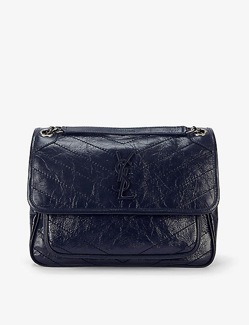 SAINT LAURENT: Niki medium leather shoulder bag