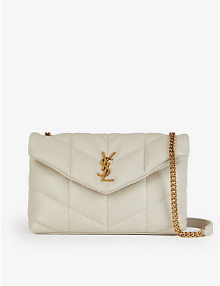 SAINT LAURENT: Loulou small leather cross-body bag