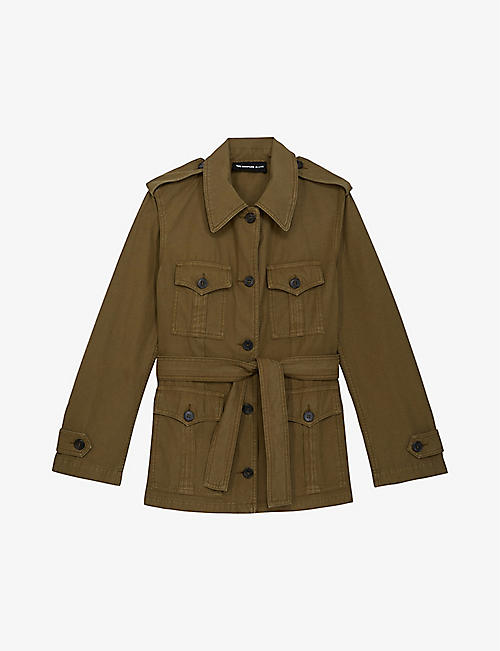 THE KOOPLES: Safari cotton jacket
