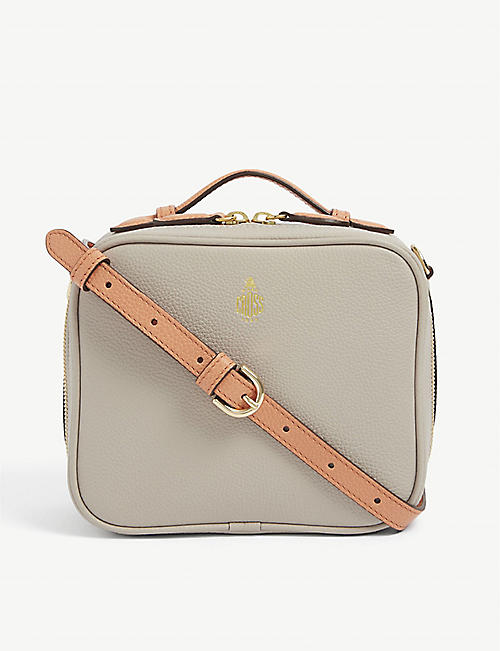 MARK CROSS: Madison mini leather cross-body bag